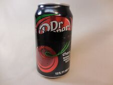 Factory Error Defective Dr. Pepper Soda Can Black Paint Leak Rare Collectable