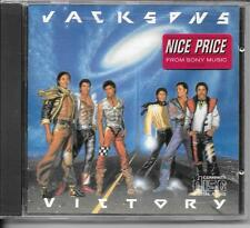 CD ALBUM 8 TITRES--JACKSON 5 / FIVE--VICTORY--1984
