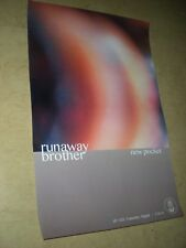 POSTERS by RUNAWAY BROTHER new pocket For the bands new release tour album cd *
