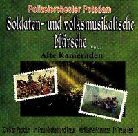 """POLIZEIORCHESTER POTSDAM """"Soldaten- & volksmusikalische Märsche - Vol.1"""" NEU OVP"""