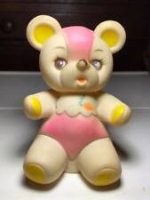 Vintage Plastic Squeaky Bear Made in Hong Kong