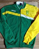 Errea AEK Volleyball Greece Mens Tracksuit Top Jacket Training Sweatshirt Green