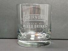 "Smirnoff Premium Malt Mixed Drinks Glass 7oz ""B"" *204"