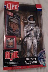 "GI Joe 12"" Mercury Astronaut John Glenn Historical Editions new by Hasbro 2002"