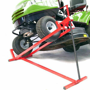 Sollevatore per trattorini tagliaerba trattorino tagliaerba quad tagliando 400kg