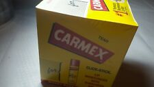 CARMEX CLICK-STICK Lip Moisturizer Sunscreen SPF 15 EZ-ON 12 Pack Blister Cards