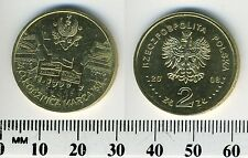 Poland 2008 - 2 Zlote Collectible Coin - 40th Ann. of March 1968 Demonstrations