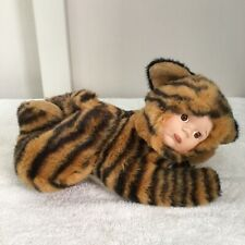 Tiger Doll Anne Geddes Style Soft Toy 28cm Long Excellent Condition
