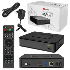 MAG 351 Set Top Box IPTV Linux 4K UHD Builtin Wifi Bluetooth MAG351