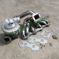 FOR Toyota Supra 1JZGTE VVTI JZX100 550HP+ GT35 GT3582 Turbo+Exhaust Manifold