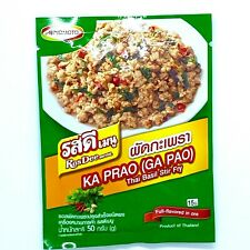 Thai Hot Basil Stir Fry Powdered Ros Dee Menu- Ka Prao, 50 g x 1 Sachet