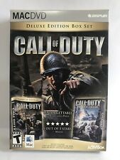 Call of Duty Deluxe w/ United Offensive New For Mac SHIPS FAST/FREE!