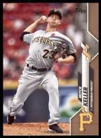 2020 Topps Series 2 Base Gold #435 Mitch Keller /2020 - Pittsburgh Pirates