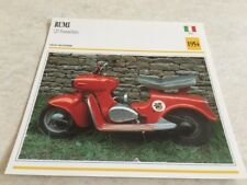 Carte moto Rumi scooter 125 Formichino 1954 collection Atlas motorbike Italie
