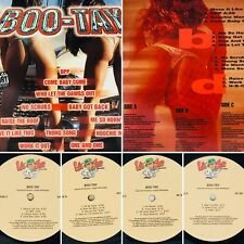 Boo Tay Various Vinyl XR 280-1 LP X 2 OPP No Scrubs Thong Song (VG+) Tested