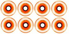 Labeda Millennium Indoor Inline Orange Hockey Wheels - 72mm - 8 Pack
