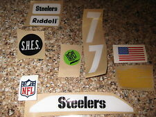 Pittsburgh Steelers  20 mil 3M vinyl full size football helmet decals