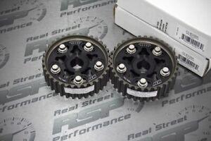 AEM x2 Adjustable Cam Gears B18A1 B18B1 B18C1 B16A2 B20B B20Z H23 PAIR SET