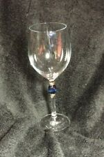 Zwiesel Germany Handcrafted Gold CAMELOT BLUE  Red Wine Glass 1996