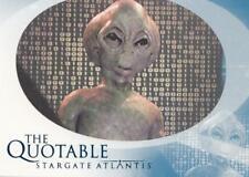Stargate Atlantis Season 2 The Quotable chase card Q22