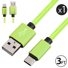 USB-C 3.1 Type-C Data Sync Fast Charging Cable for NEXUS 5X/6P LG G5 Samsung S8+