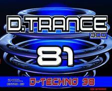 D,TRANCE 81 (INCL,D,TECHNO 38)  4 CD NEU