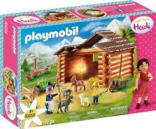 Playmobil 70255 Heidi Peter's Goat Stable Playset