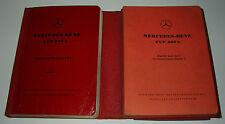 Ersatzteilkatalog Mercedes Adenauer Typ 300 b W 186 Ersatzteilliste 08/1954!