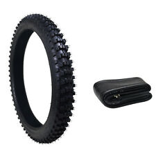 "3.00-21""or 80/100- 21"" inch Knobby Tyre Tire +Tube PIT PRO Trail Dirt Bike"