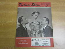 November 1951, PICTURE SHOW, Joan Greenwood, Spencer Tracy, Jan Sterling, D Farr