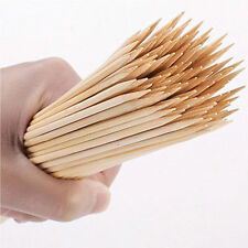New Pack Of 60 Jumbo Bamboo Skewers For BBQ Kebab Fruit Chocolate Fountain Stick