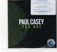 (FB384) Paul Casey, You Are - 2012 DJ CD