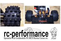 100 Winter Spikes für Großmodelle FG HPI MCD Hurrax Carbonfighter Jamara