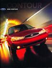 2000 Ford Contour Original Car Sales Brochure Catalog
