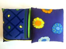 MARIMEKKO RARE 1960'S ORIG VNTG SCANDINAVIAN MID CENTURY MODERN THROW PILLOWS