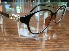 CHANEL 5861 Eyeglasses Optical Frames Glasses Brown 50mm