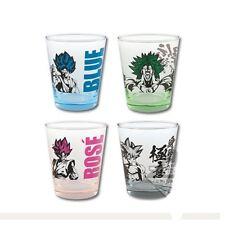 Ichiban kuji Banpresto Dragon Ball Goku Rose Broly Super Saiyan glass 4type set