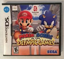 Mario & Sonic At The Olympic Games Nintendo DS Case And Manual Only