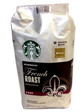 Starbucks French Roast Coffee TWO 2.5 Lb bags (80 Oz) - Whole Bean
