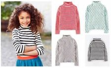 Mini Boden Girls' Striped 100% Cotton T-Shirts & Tops (2-16 Years)