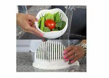 Hot Salad Cutter Bowl Easy Make Salad Fresh Tool Slicer Fruit Washer