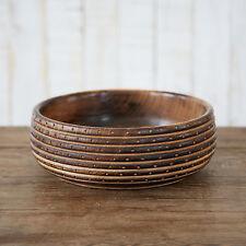 Fair Trade Handmade Natural Carved Mango wood Bowl - Sustainable wood