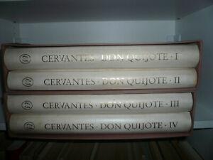 DON QUIJOTE, Cervantes, Kunstedition Eberhard Schlotter, MIT Originalradierung