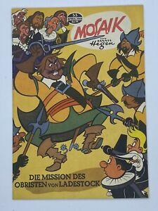 H. Hegen Mosaik 53 Export Ausgabe Originalheft 1961
