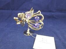 Crystocraft Free Standing Graceful Angel with Strass Swarovski Crystals.