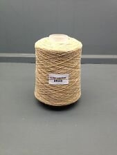 200g Amarillo / Beige Mix 11.5 nm Lambswool hilados Tusk a9543