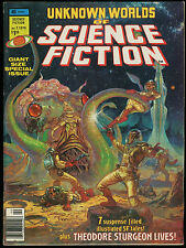 Unknown Worlds of Science Fiction Giant Size Special 1 Magazine John Buscema art
