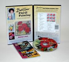 Bob Ross, 2 hour DVD ROSES, Bob Ross, Teaching, Oils, FLORAL, FLOWERS