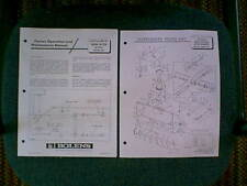 BOLENS SNOWTHROWER ATTACHMENT MODEL # 18042-01 OWNER & PARTS MANUAL 5/68