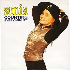 "SONIA counting every minute/instrumental CHS 3492 uk chrysalis 1997"" PS EX/EX"